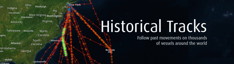 FleetMon Historical Tracks
